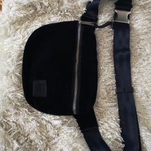 Herschel velvet waist bag